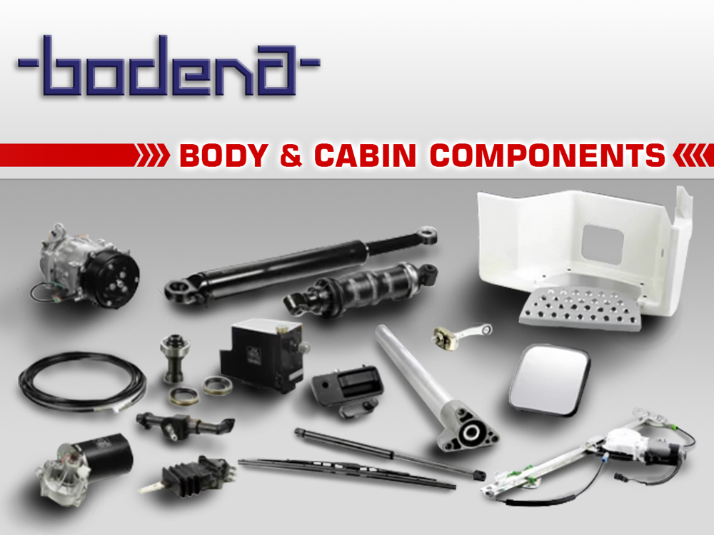 06-Body-Cabin-components
